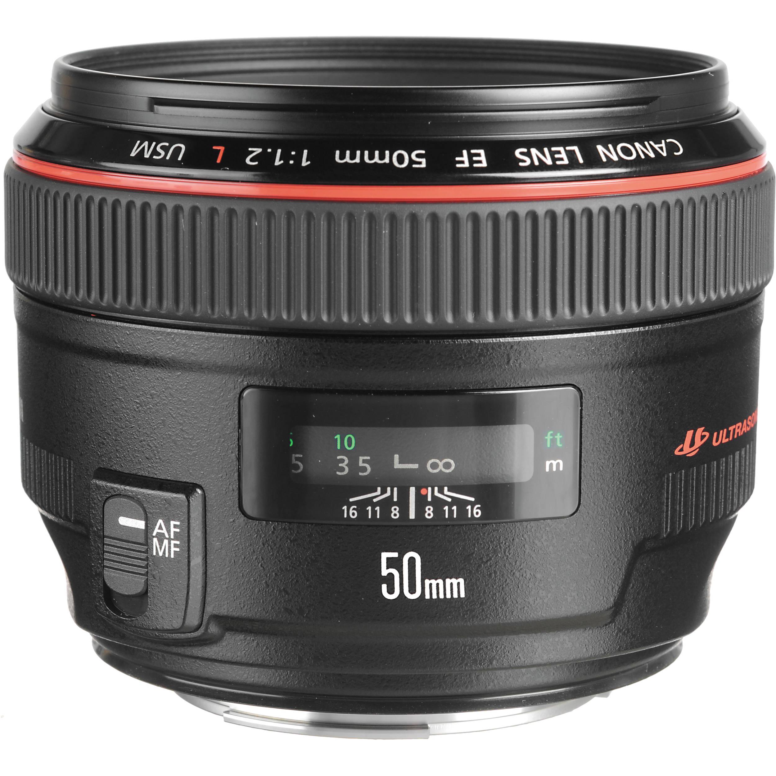 Immagine Canon Obiettivo, EF 50 mm 1.2L USM