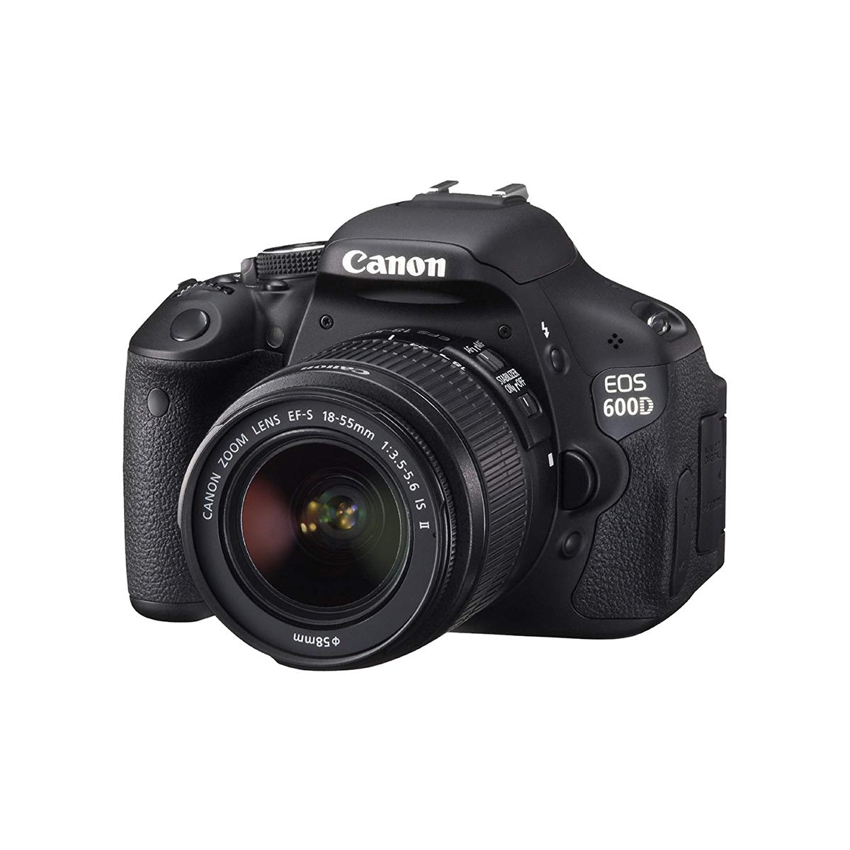 Immagine Canon EOS 600D + 18-55 mm