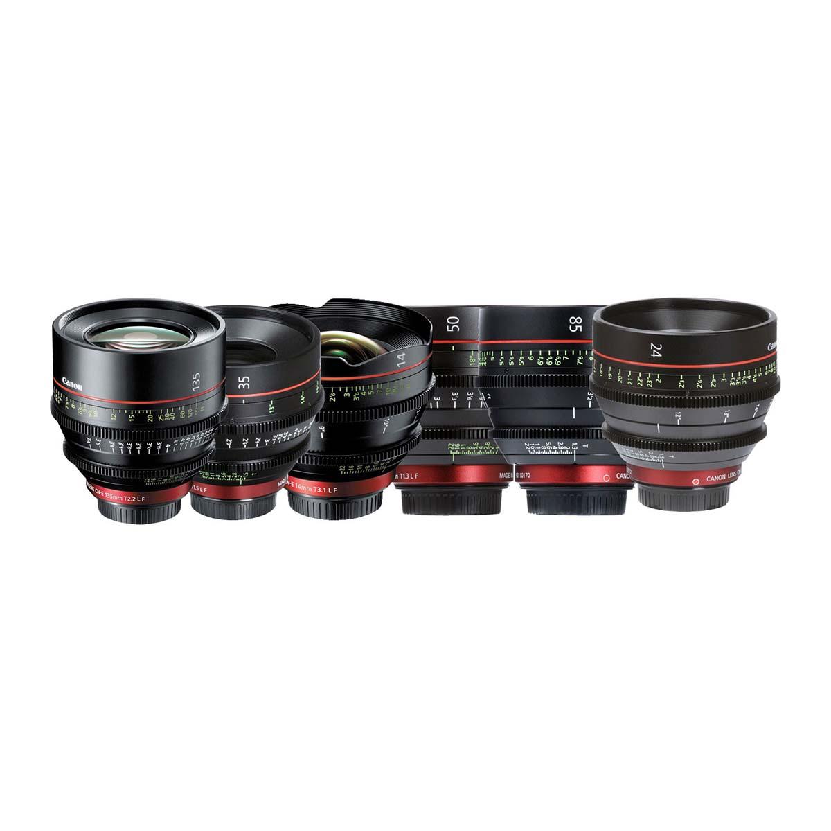 Immagine Obiettivi Canon cine CN-E Kit