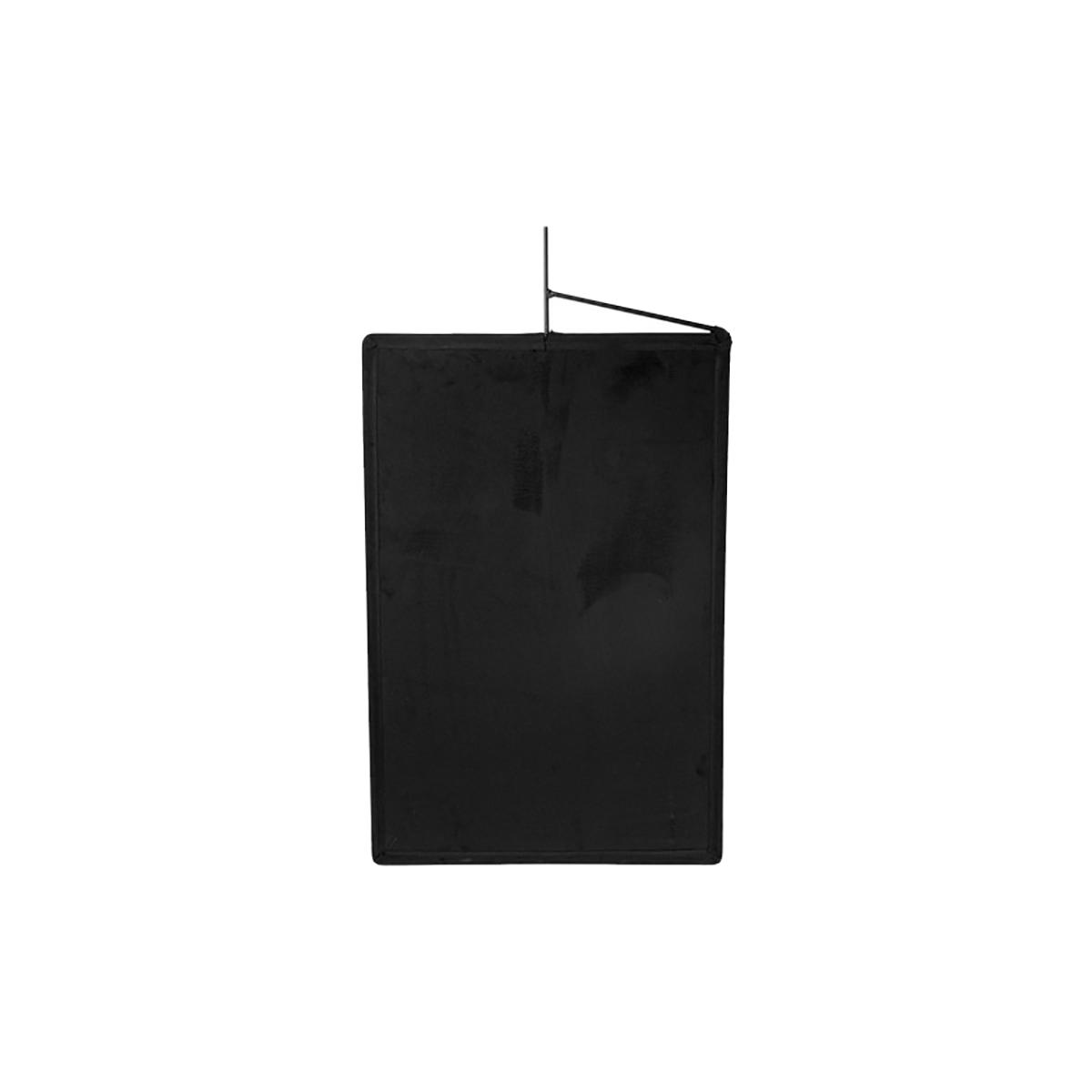 Immagine Bandiera panno nera 120 x 120 cm Floppy