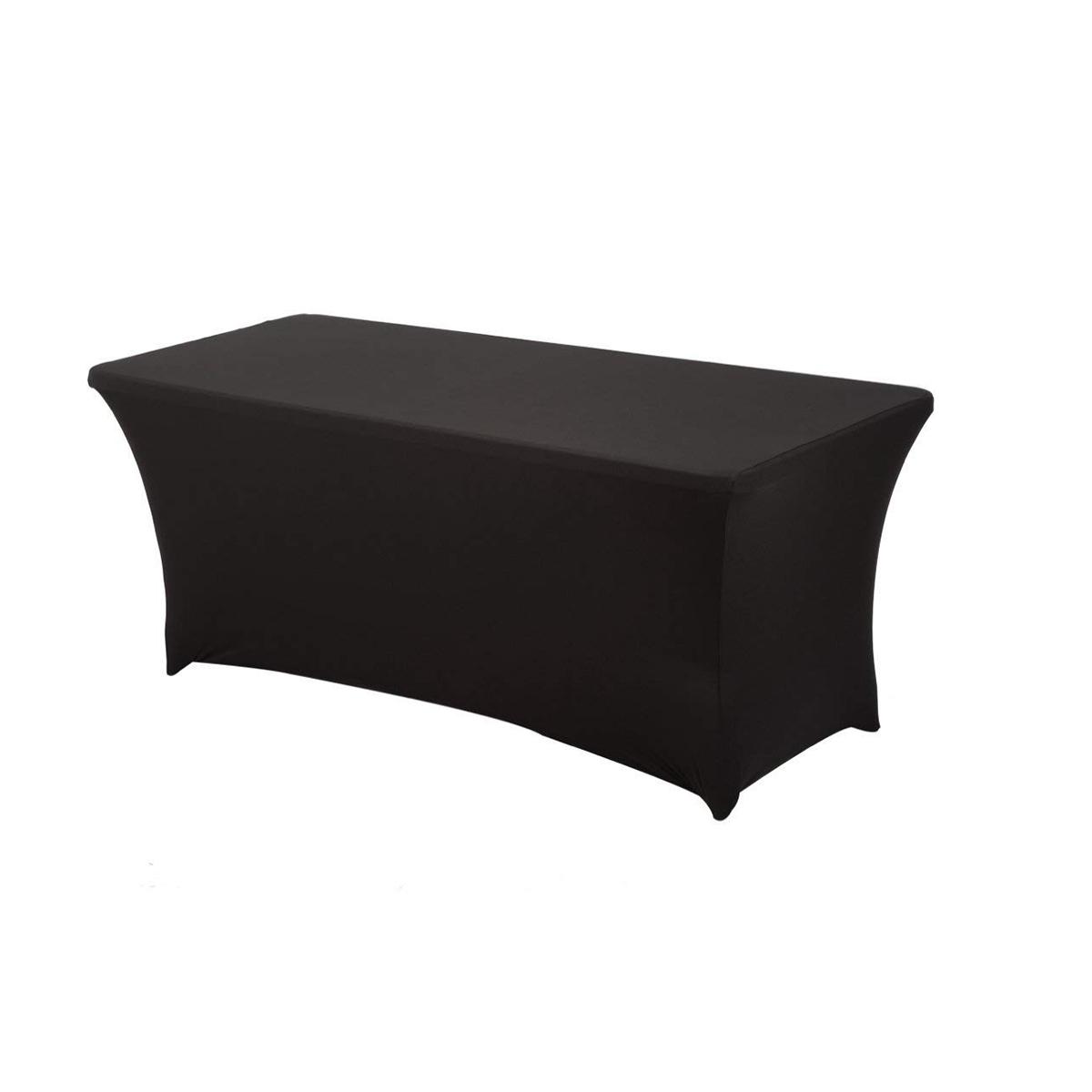 Immagine Copritavolo nero elastico 180x80 cm