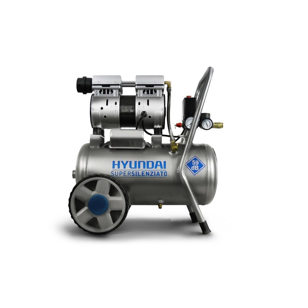 Immagine Compressore Hyundai 1 HP 8 Bar 24 L